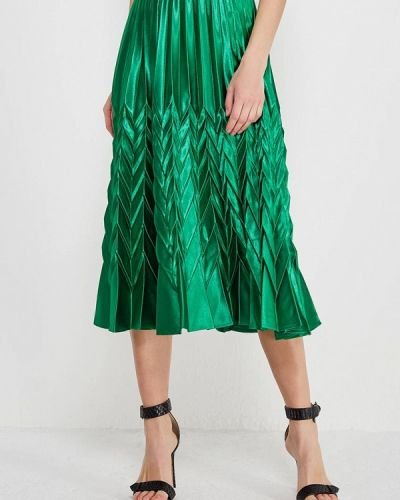 Зеленая юбка весенняя Paccio