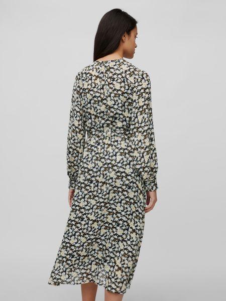 Платье с вырезом на пуговицах из вискозы Marc O'polo