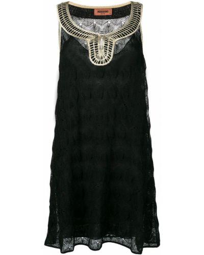 Платье с вышивкой с вырезом Missoni
