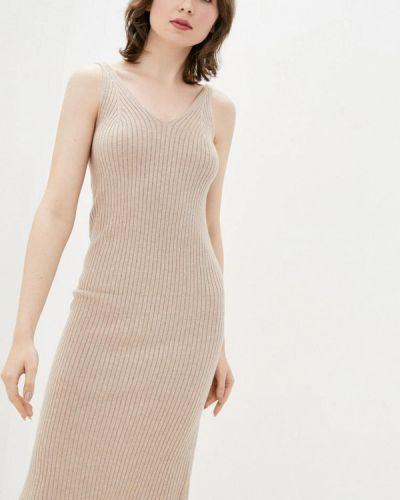 Бежевое платье Dasti