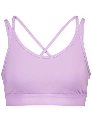 Тренировочный фиолетовый компрессионный лиф Tory Sport