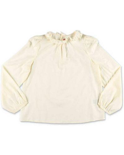 Beżowa bluzka Bonpoint