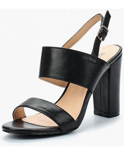 Черные босоножки на каблуке La Bottine Souriante