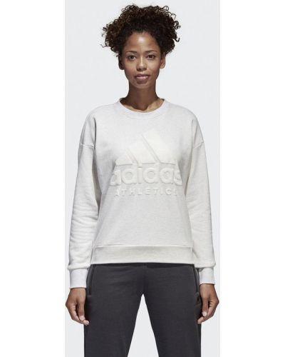 Толстовка белый Adidas