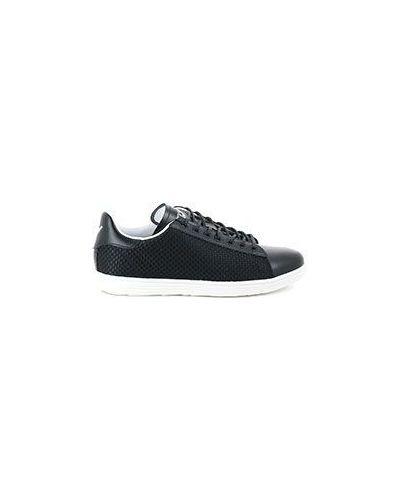 Черные низкие кеды Armani Jeans