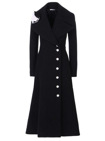 Пальто расклешенное шерстяное Céline