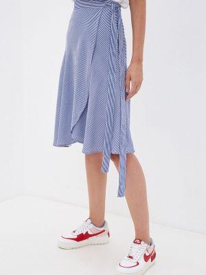 Синяя юбка летняя Gloss