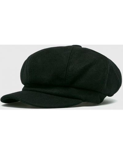 Черная шапка хлопковая Answear