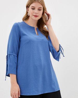 Блузка - синяя Balsako