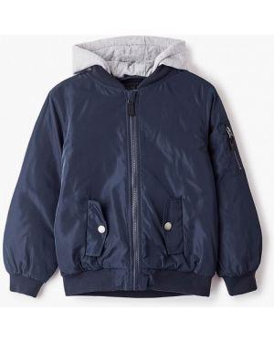 Куртка теплая синий Sela