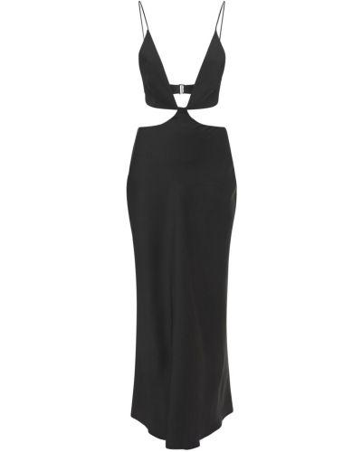 Czarna sukienka długa Bec & Bridge