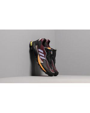 Fioletowe półbuty Adidas Consortium