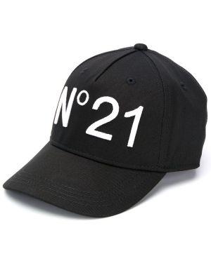 Czapka z logo czarny Nº21 Kids