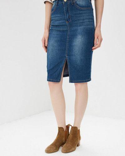 Синяя джинсовая юбка Modis