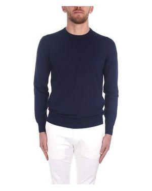 Niebieski sweter Cruciani
