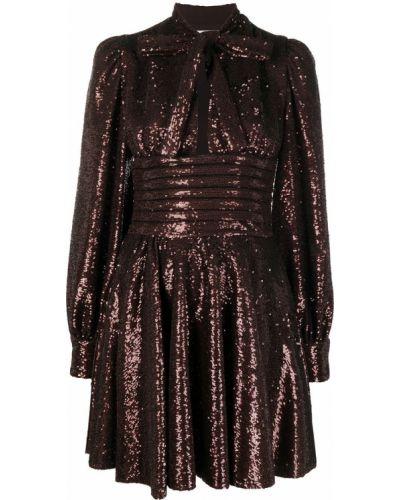 Brązowa sukienka Brognano