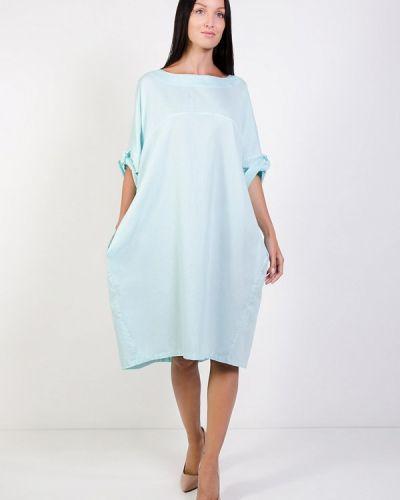 Платье - голубое Kriza