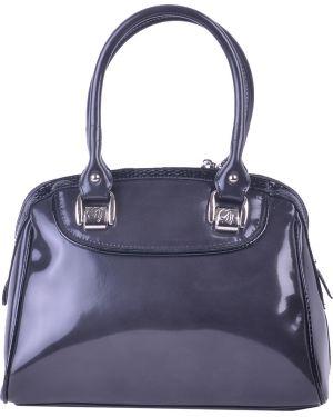 Черная кожаная сумка Gilda Tonelli