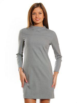 Платье из вискозы - серое Cerruti 18crr81