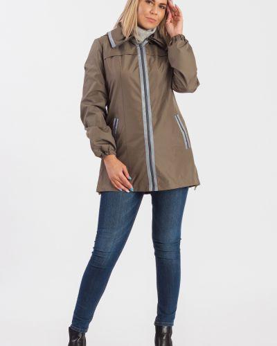 Куртка с капюшоном коричневая Lacywear