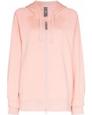 Спортивный топ розовый с капюшоном Adidas By Stella Mccartney