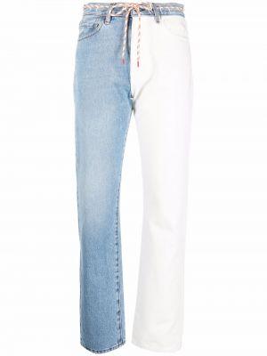 Белые джинсы со средней посадкой Aries