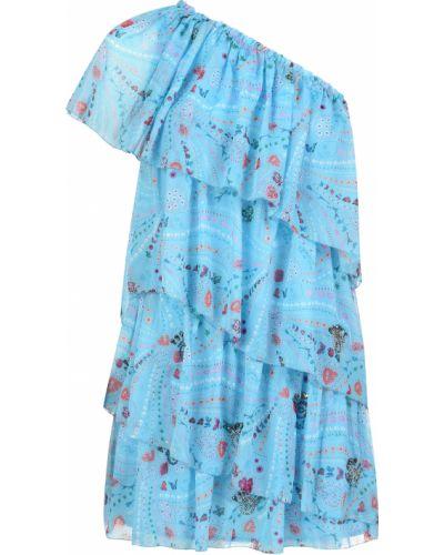 Платье из полиэстера - голубое Zadig & Voltaire