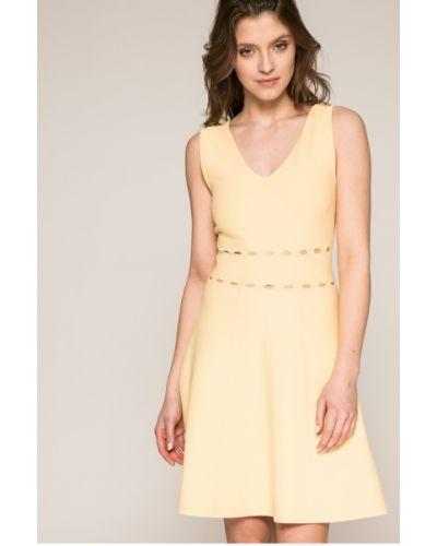 Платье мини из вискозы однотонное Morgan