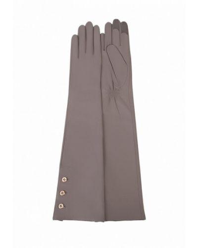 Серые перчатки длинные Michel Katana