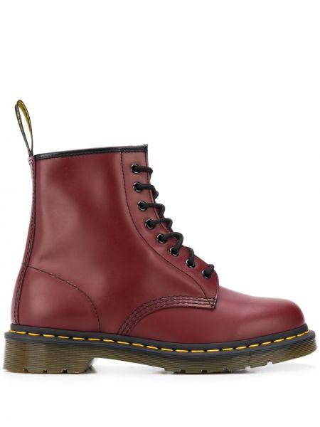 Кожаные ботинки треккинговые на шнуровке Dr. Martens