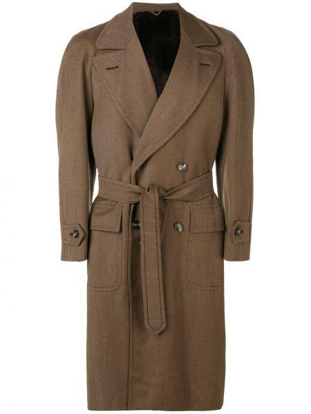 Длинное пальто с лацканами с рукавом реглан A.n.g.e.l.o. Vintage Cult