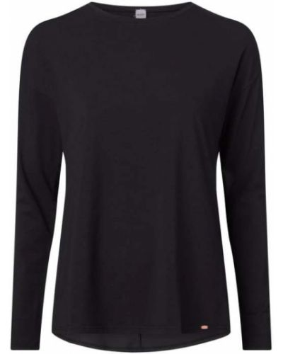 Czarna piżama bawełniana rozkloszowana Skiny