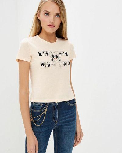 Розовая футболка Elisabetta Franchi