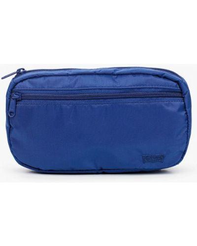 Текстильная синяя поясная сумка Levi's®