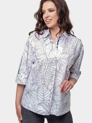 Белая рубашка осенняя Prima Linea