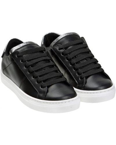Черные кожаные ботинки Antony Morato