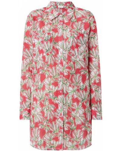 Różowa bluzka z długimi rękawami bawełniana Gerry Weber