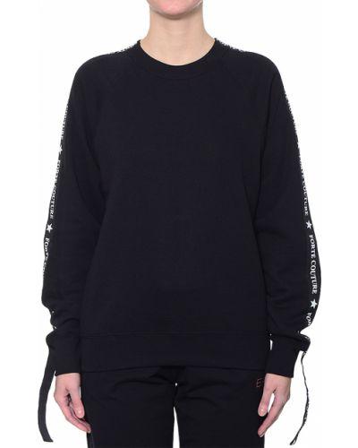 Черный джемпер Forte Couture