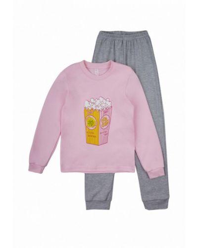 Пижама серая розовый габби