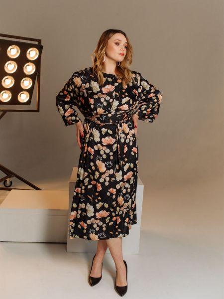 Брендовое платье-рубашка для офиса Vovk