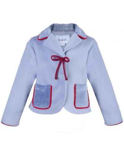 Prążkowana kurtka z aksamitu Mimisol