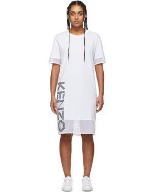 Платье сетчатое вязаное Kenzo