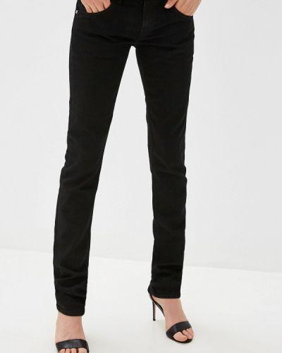 Зауженные джинсы - черные Helmut Lang