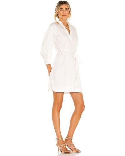 Biała sukienka do pływania bawełniana Rebecca Taylor