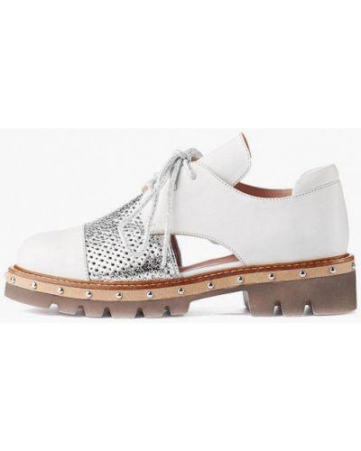 Кожаные ботинки - белые Stefano Lompas