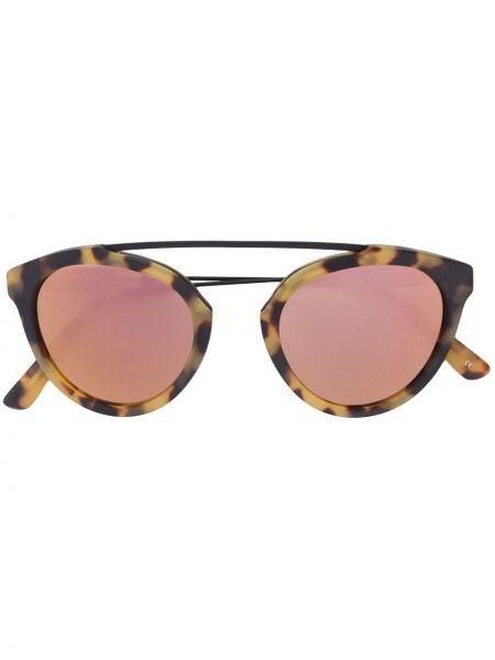 Розовые солнцезащитные очки металлические Westward Leaning