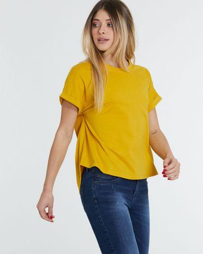 Желтая футболка Piazza Italia