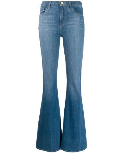 Широкие джинсы расклешенные mom J Brand