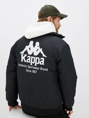 Черная демисезонная куртка Kappa
