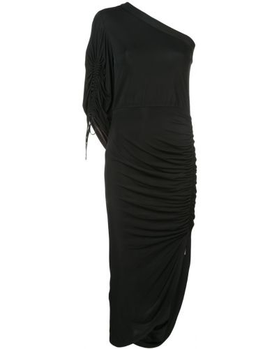 Платье миди со складками Yigal Azrouel